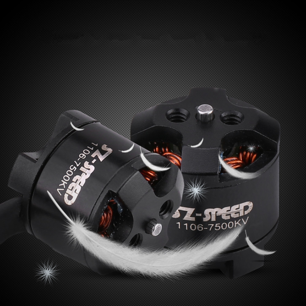 SZ-Speed 1106 7500KV 2-3S Brushless Motor for RC Drone FPV Racing