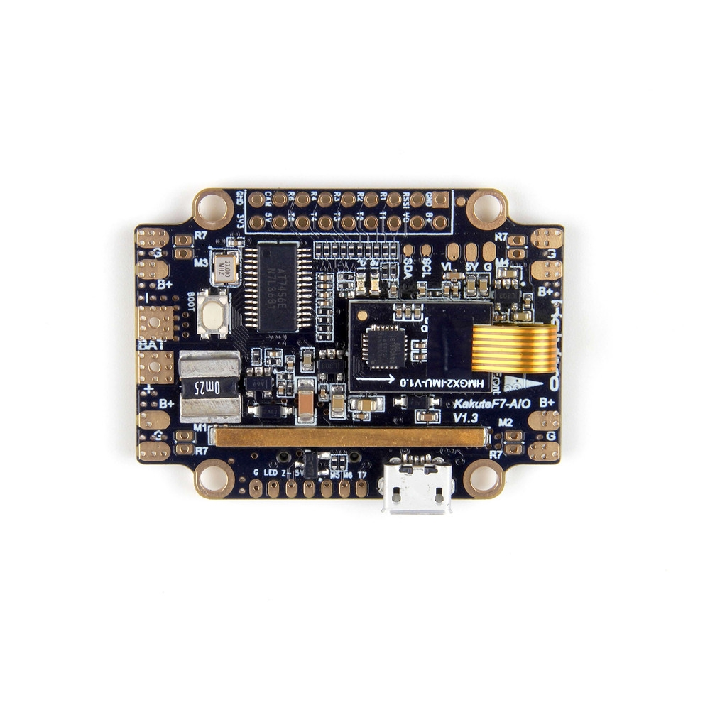 Holybro Kakute F7 AIO STM32F745 Flight Controller w/ OSD PDB Current Sensor Barometer for RC Drone