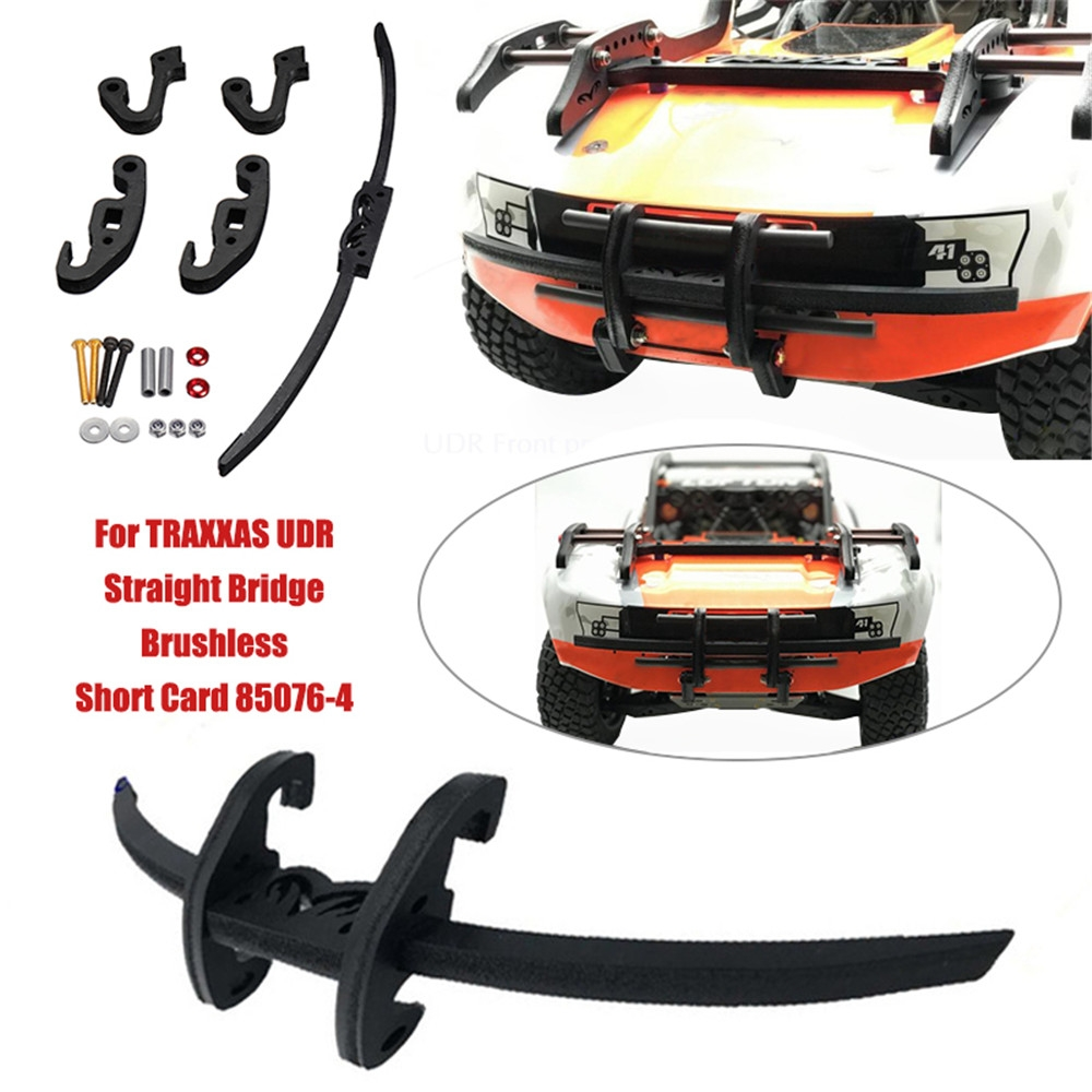 1/7 RC Front Bumper Collision Protection Protector For Traxxas Unlimited Desert Racer UDR Car Parts