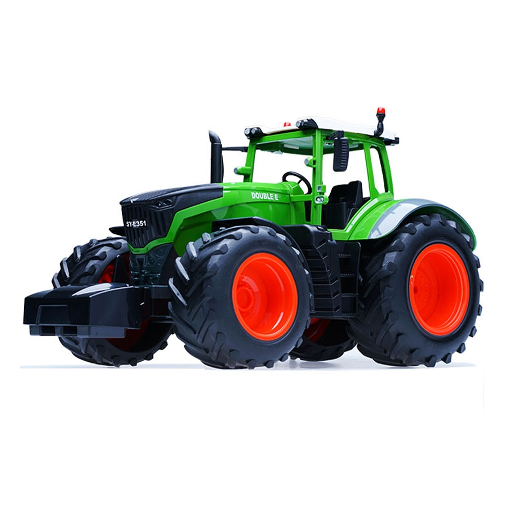 RC Car Truck Farm Tractor 2.4G Remote Control Trailer Dump Rake 4 Wheel Engineer Vehicle Toys