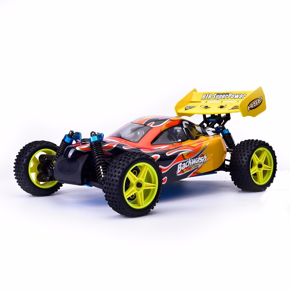 HSP Baja 94166 1/10 2.4G 4WD 400mm Rc Car Backwash Buggy Off-road Truck With 18cxp Engine RTR Toy
