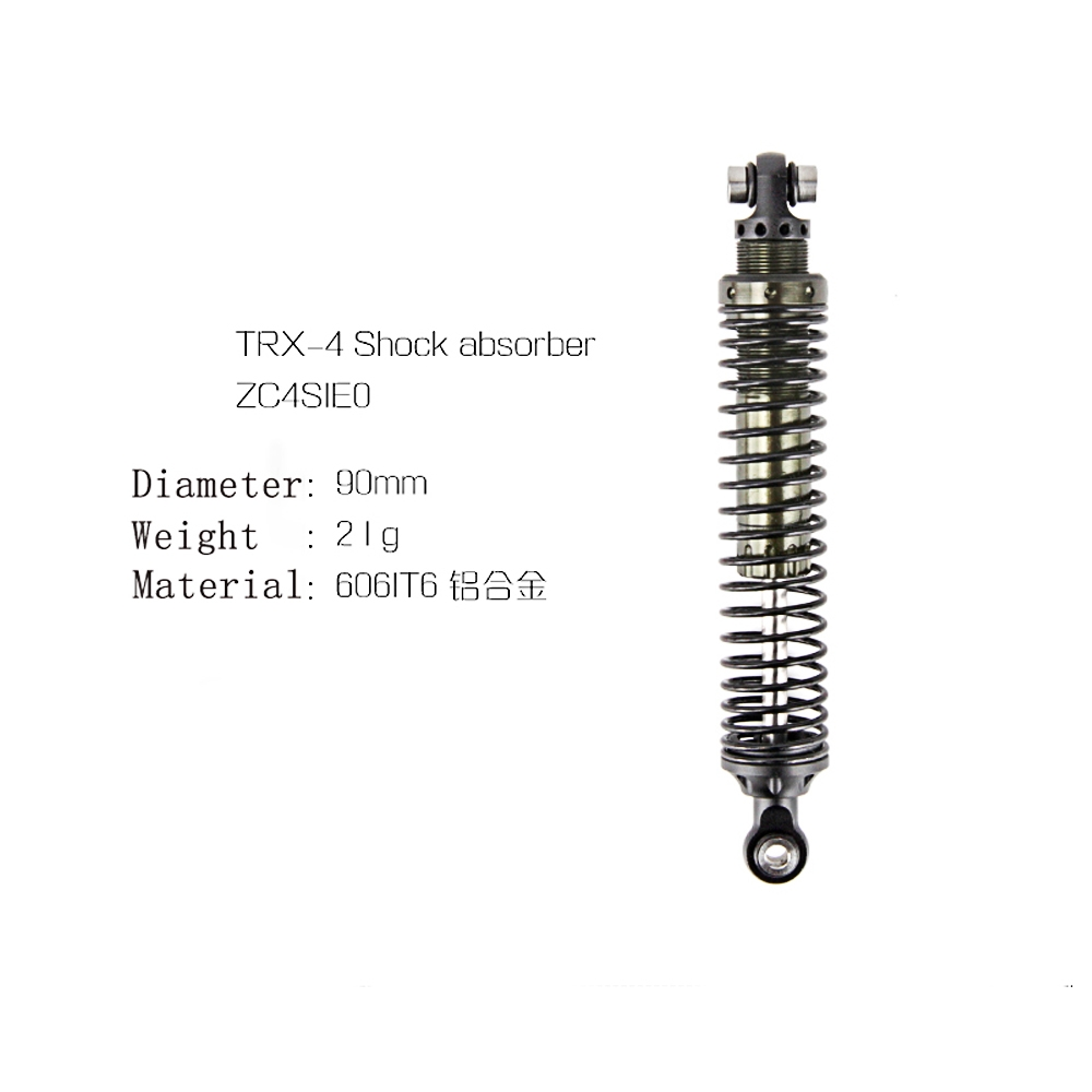 4PCS Per Set Black 90mm Shock Absorber For TRX4 RC Car