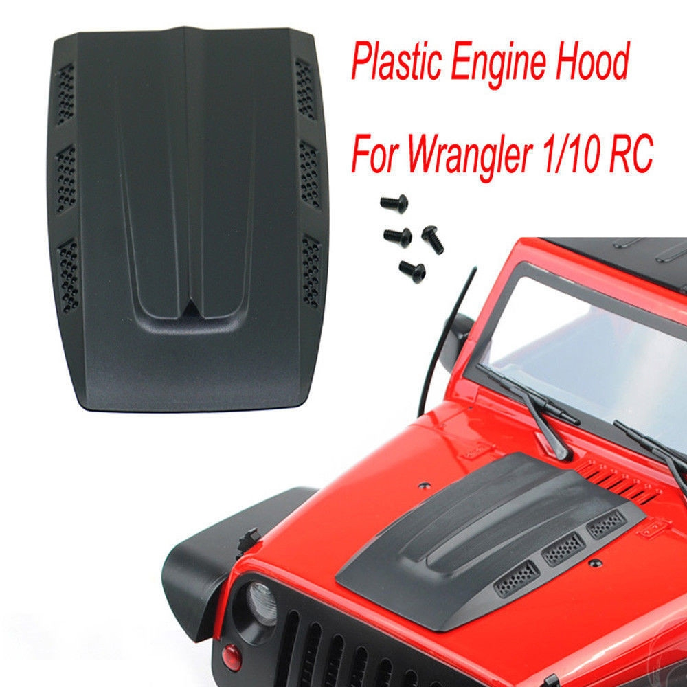 Engine Hinge Cover for 1/10 RC Crawler Axial SCX10 Auto Wrangler Car Parts
