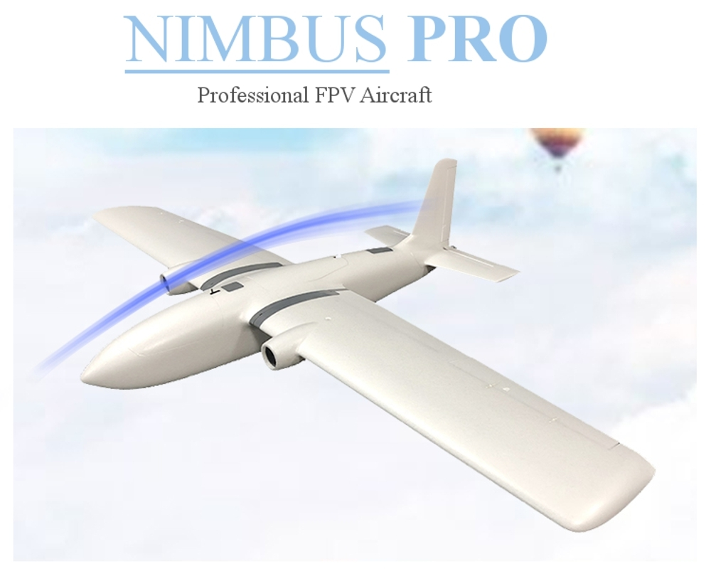 MFD MyFlyDream NIMBUS PRO PNP 1950mm Wingspan FPV Aircraft RC Airplane