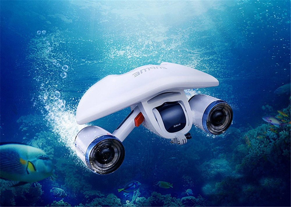 Underwater Sea Scooter For Diving Swim With Floater Attachment SUBLUE Whiteshark Mix 0 RC Submarine