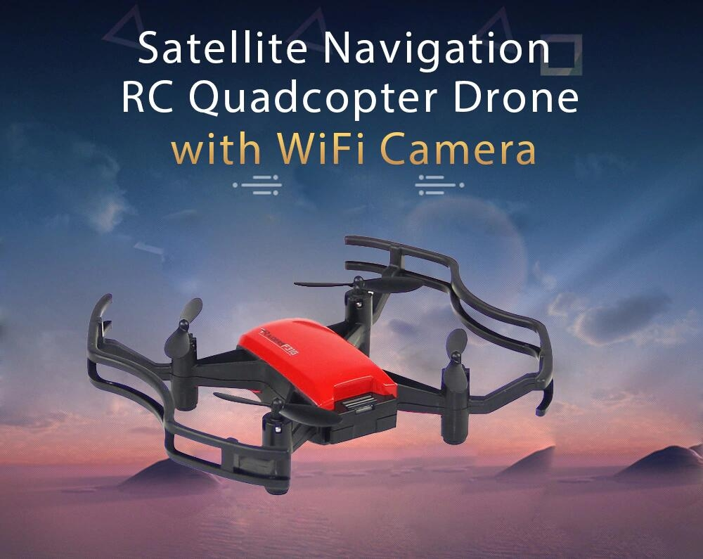 F31G 720P WIFI FPV Satellite Navigation Optical Flow Position RC Quadcopter RTF