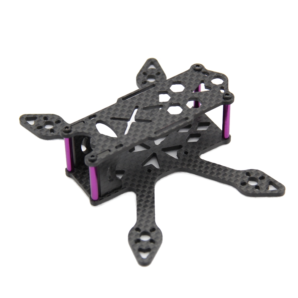 GP110 110mm Micro FPV Racing Frame Kit Carbon Fiber Supports Runcam Micro Swift Cam 2435 Propellers