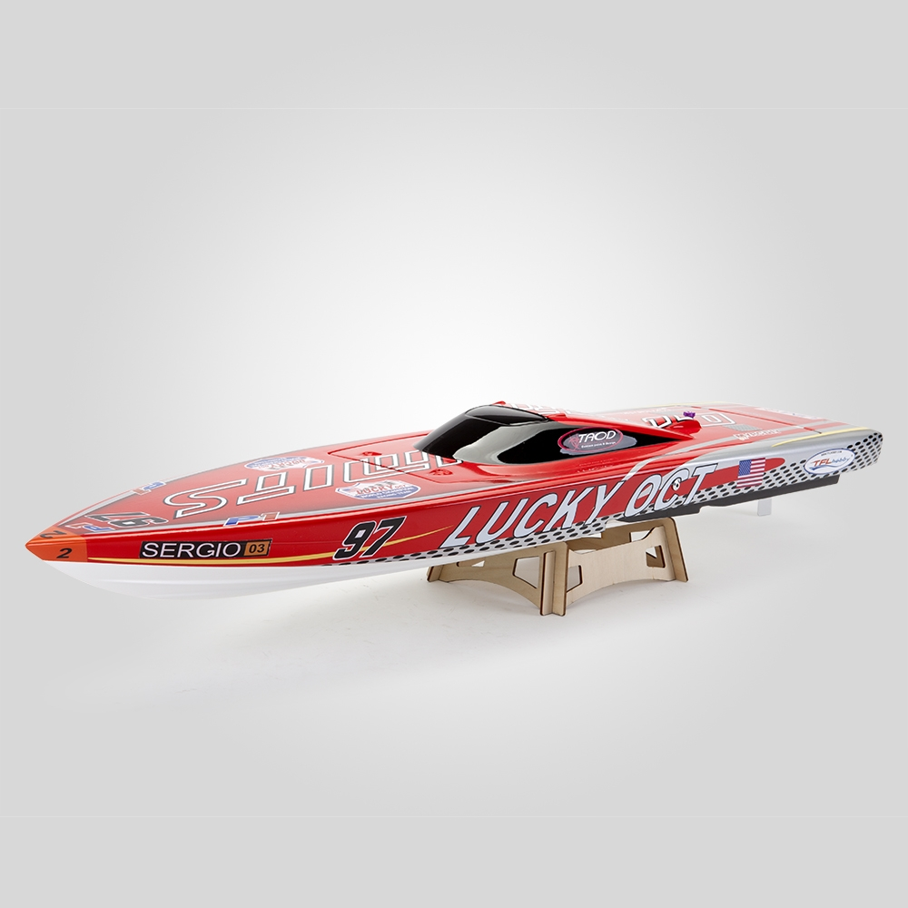 TFL 1126 880mm Lucky OCT 2.4G Brushless Rc Boat W/ Water Cooling System Without Servo TX Battery