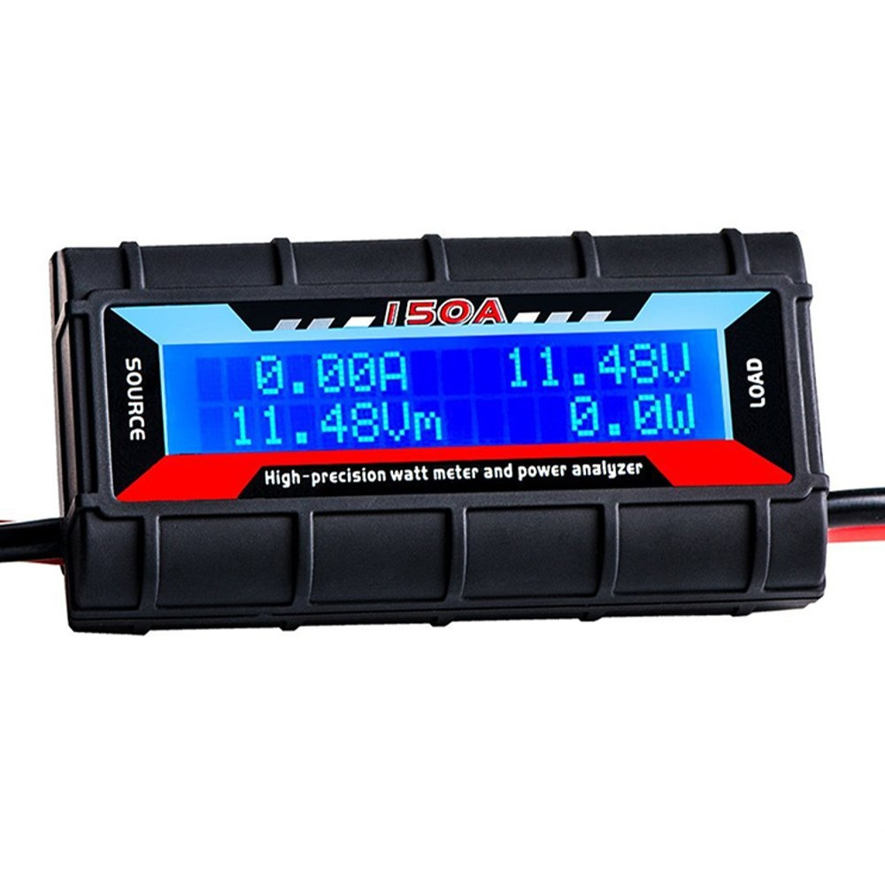 RJXHOBBY 150A High Precision Battery Watt Meter And Power Analyzer For RC Models