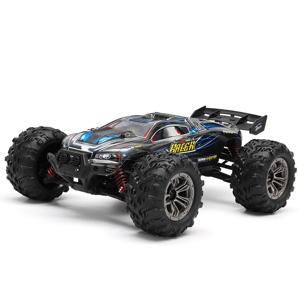 15% OFF for Xinlehong 9136 1/16 2.4G 4WD 32cm Spirit Rc Car 36km/h Bigfoot Off-road Truck RTR Toy