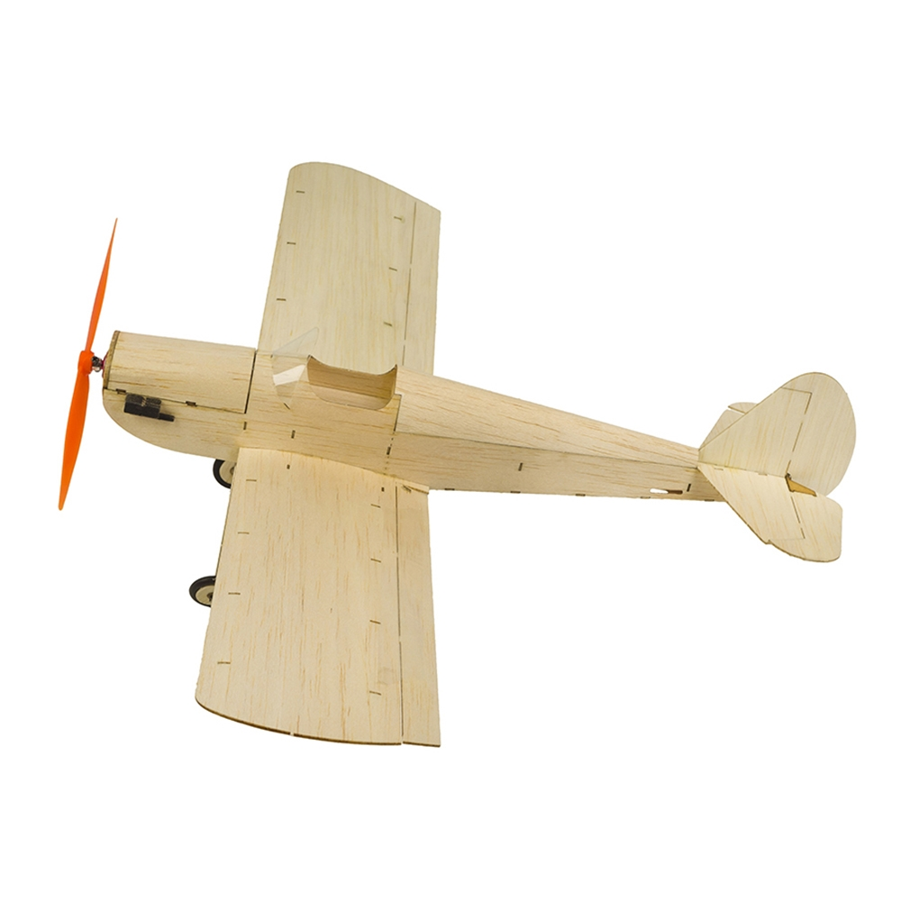 Mini Balsa Wood RC Airplane Model K9 Spacewalker Indoor/Park Fly 380mm Wingspan Aircraft Model Kits