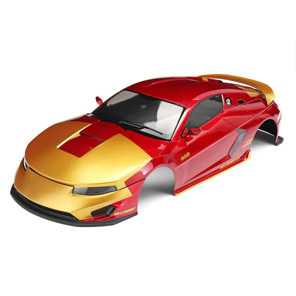 Killerbody 48720 Hero Chariot Finished Body Metallic-red & gold Shell for 1/10 Electric Touring Car