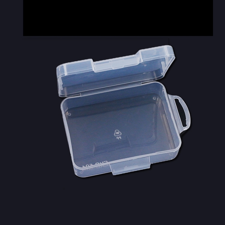 94mmx69mmx31mm PP Transparent Plastic Mini Storage Screw Box For Screws Nuts Spare Parts RC Model