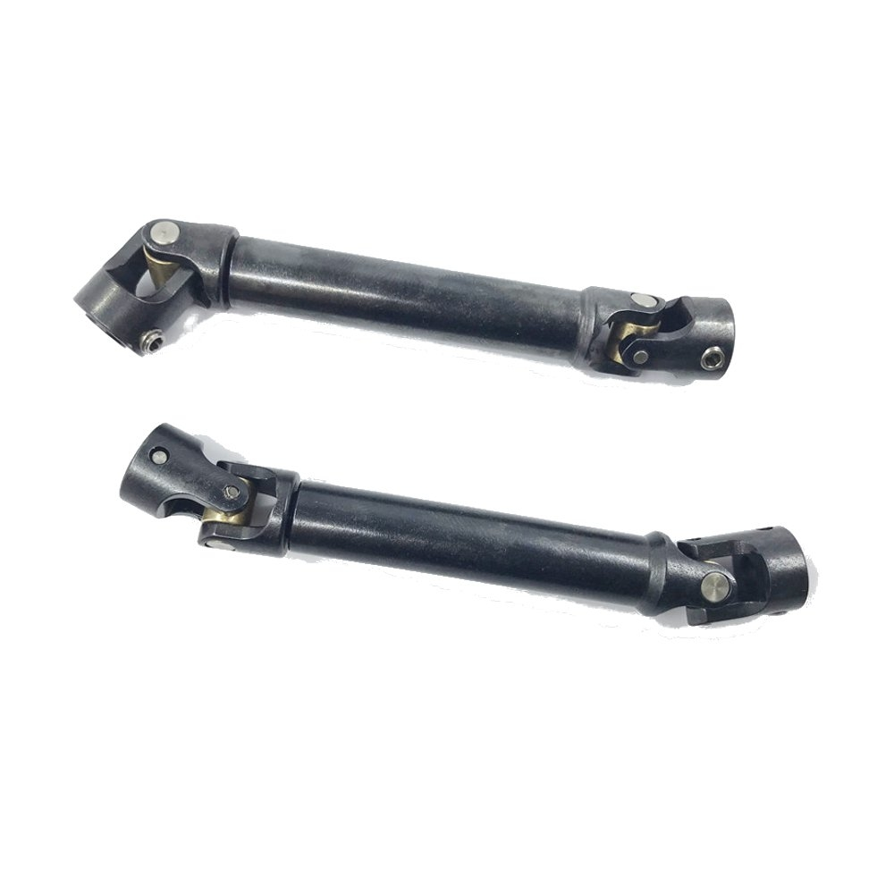 2PC Stainless Steel Drive Shaft 110-148MM for SCX10 D90 RC4WD Rock Crawler Rc Car Parts