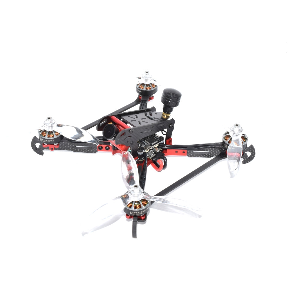 WAY-TEC SPIDER 200mm FPV Racing Drone PNP F4 5.8G 48CH 35A BLHELI_32 25/100/200/400/600mW VTX