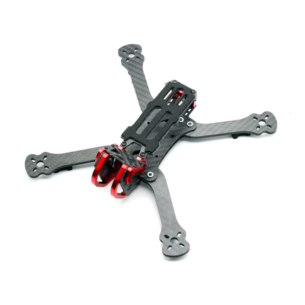 HSKRC Karry220 220mm Wheelbase 4mm Arm Thickness Carbon Fiber Frame Kit for RC Drone FPV Racing
