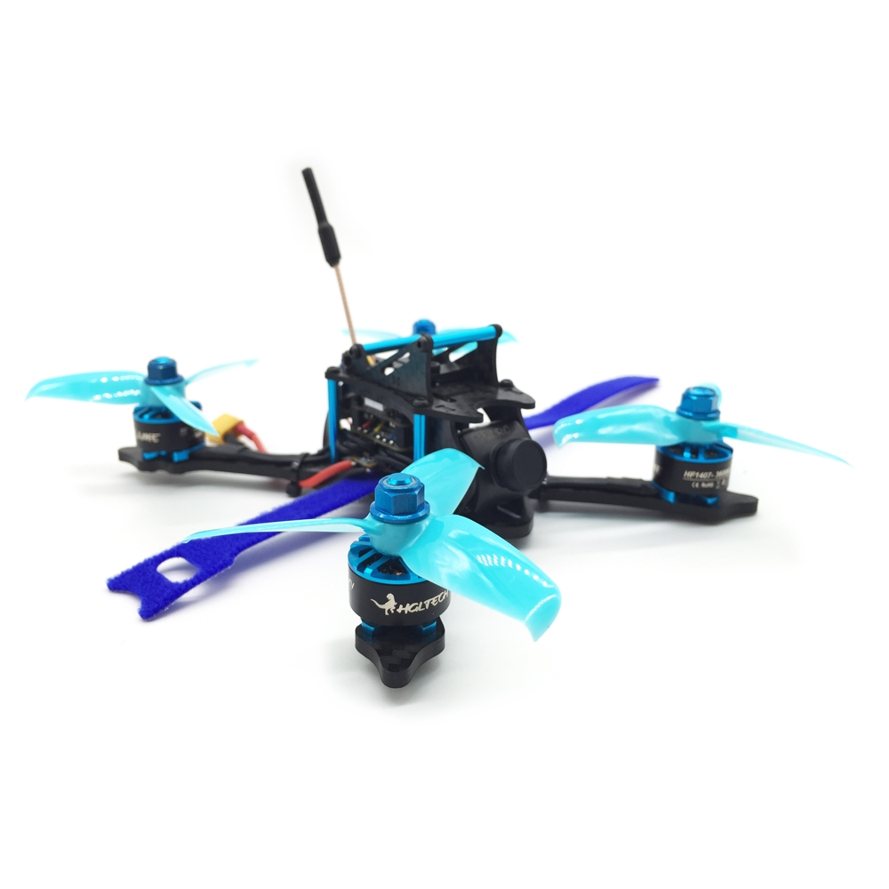 HGLRC XJB-145MM FPV Racing Drone BNF Compatible FrSky XM+ Receiver Omnibus F4 28A 2-4S Blheli_S ESC