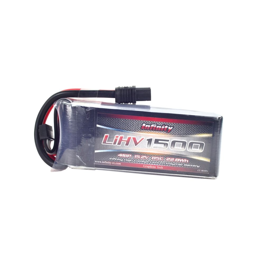 AHTECH Infinity LIHV 1500mAh 4S 85C 15.2V Lipo Battery SY60 For RC Drone FPV Racing Multi Rotor
