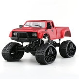 Fayee FY002B 1/16 2.4G 4WD Rc Car Military Truck Track Wheel W/ Front LED Light RTR Toy