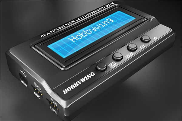 Hobbywing 3 In 1 Multifunction LCD Program Box Card Battery Voltmeter For Platinum Series ESC