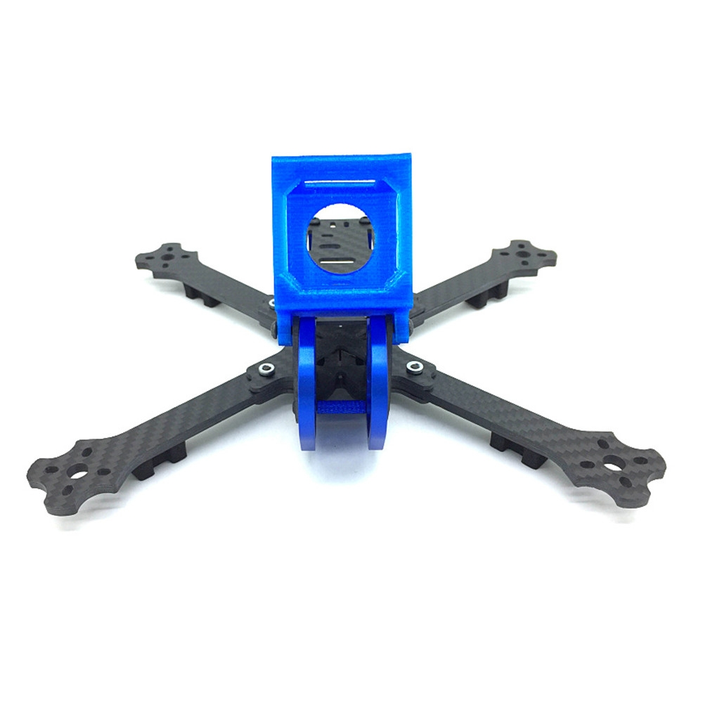 Cobra X5 X5D 5 Inch 227mm 4mm Arm 3K Carbon Fiber Racing Frame Kit w/ Camera Mount for Gopro Session