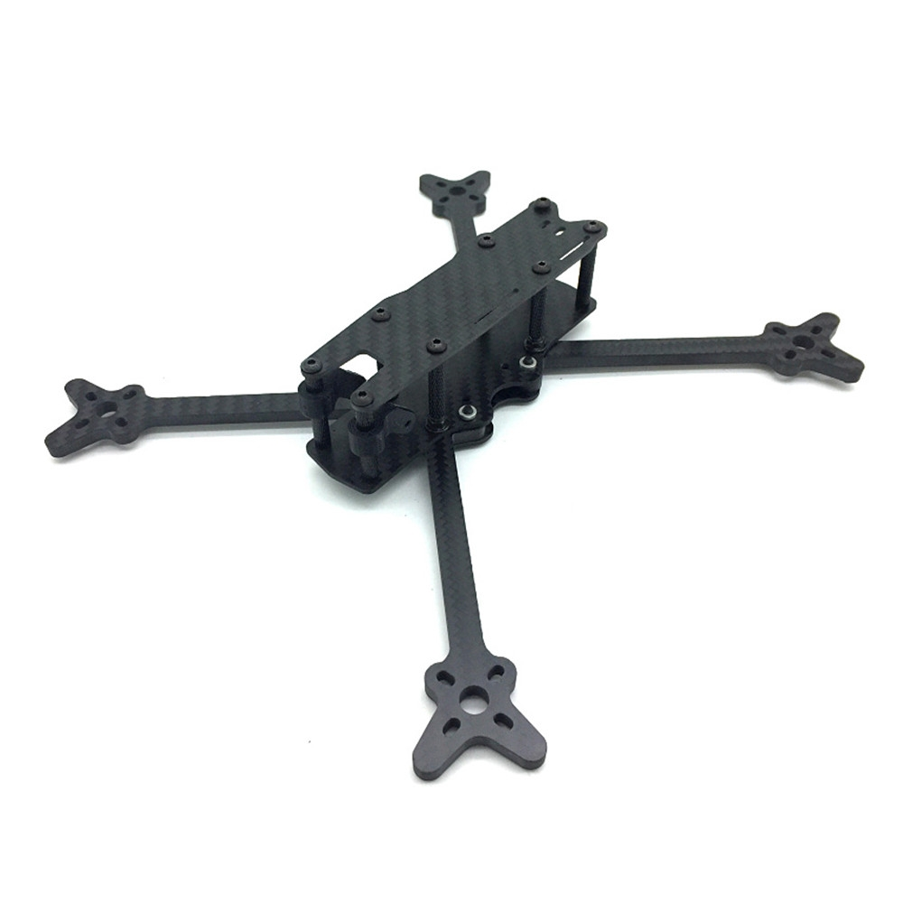 Mole 6 256mm Wheelbase 5mm Arm 3K Carbon Fiber 6 Inch Frame Kit for RC Drone FPV Racing