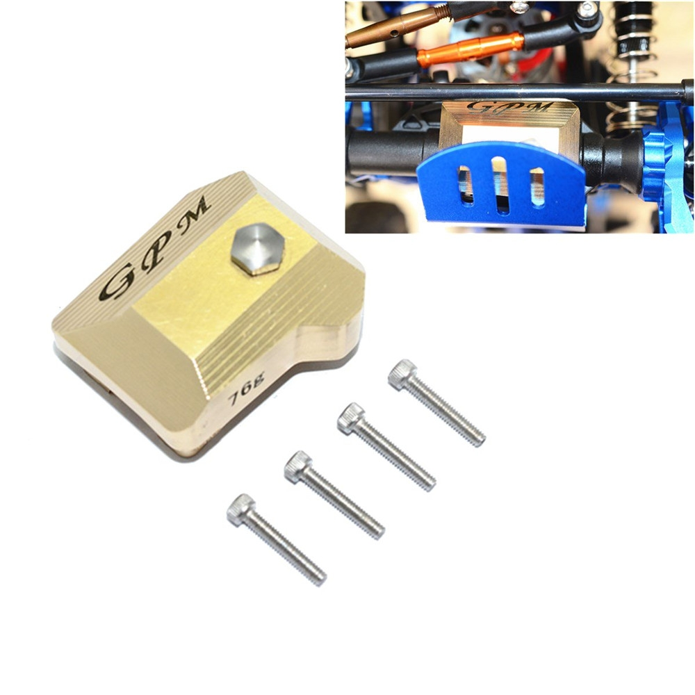 1/10 Brass Front Rear Universal Axle Outer Cover for Traxxas Trx4 Crawler RC Car Parts