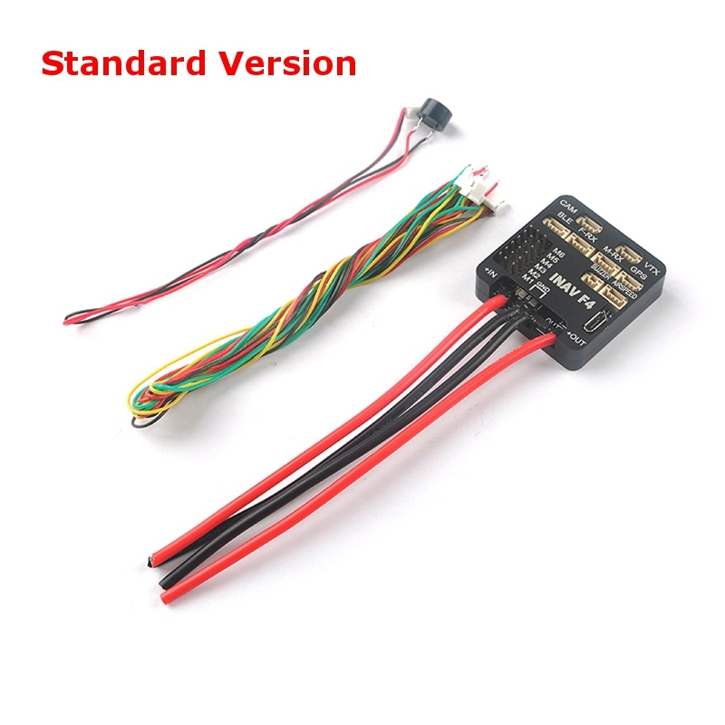 Inav F4 Flight Controller Standard/Deluxe Version Integrated OSD Buzzer W/Without M8N GPS Airspeed