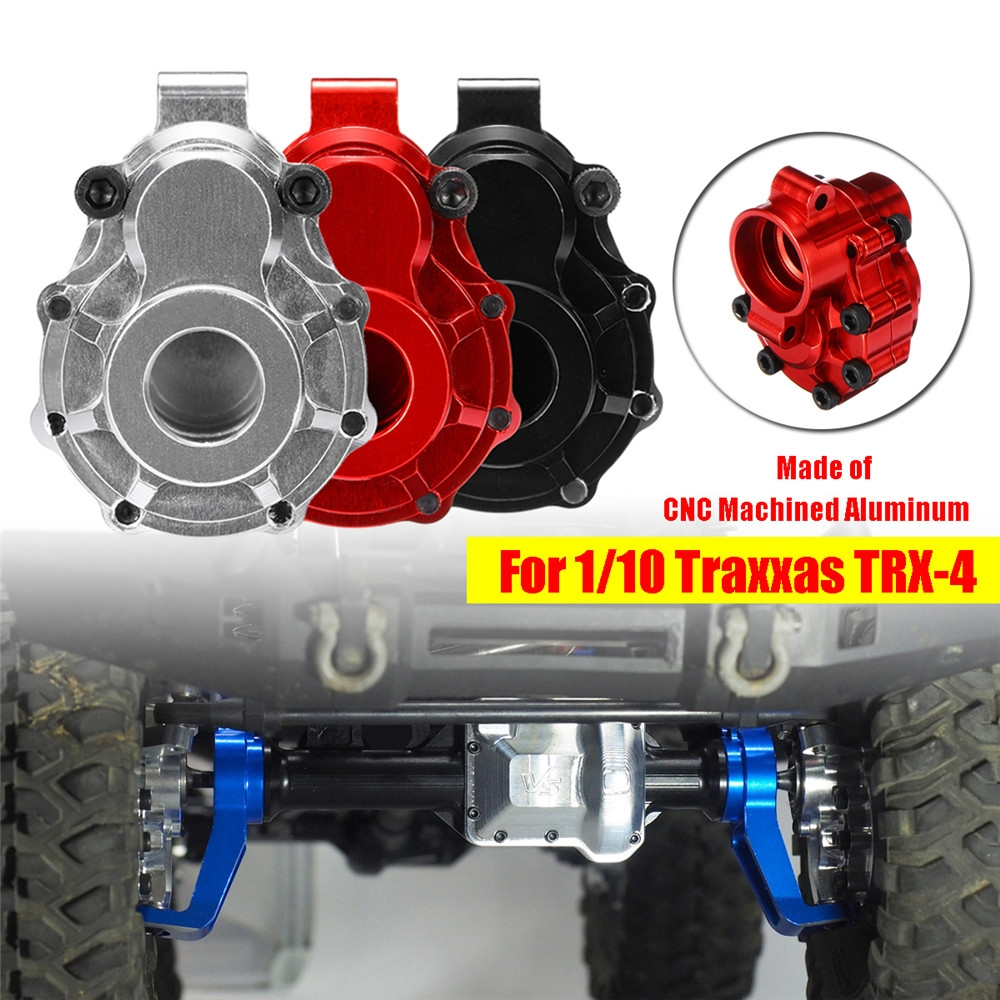 2PCS Alloy CNC Rear Axle C-Hub Cover Mount Upgrade Parts for 1/10 RC Car Crawler Traxxas TRX-4