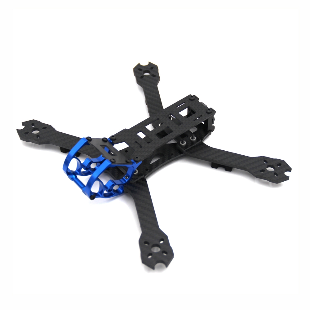 Sapphire Star 5 Inch 226mm / 6 inch 260mm Wheelbase 4mm Arm Carbon Fiber Frame Kit for RC Drone