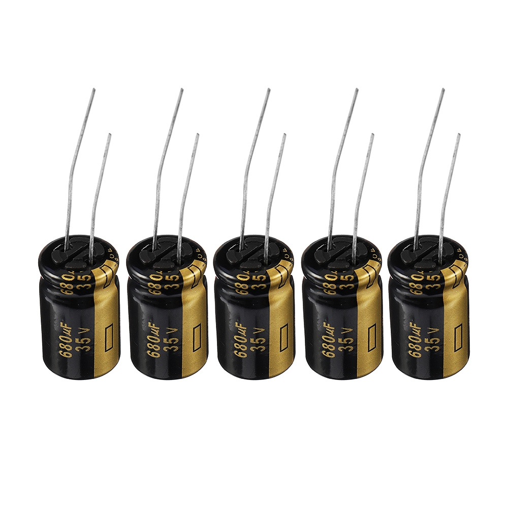 5Pcs 35V680UF/30Pcs 25V220UF URUAV Multirotor Capacitor for RC Drone FPV Racing