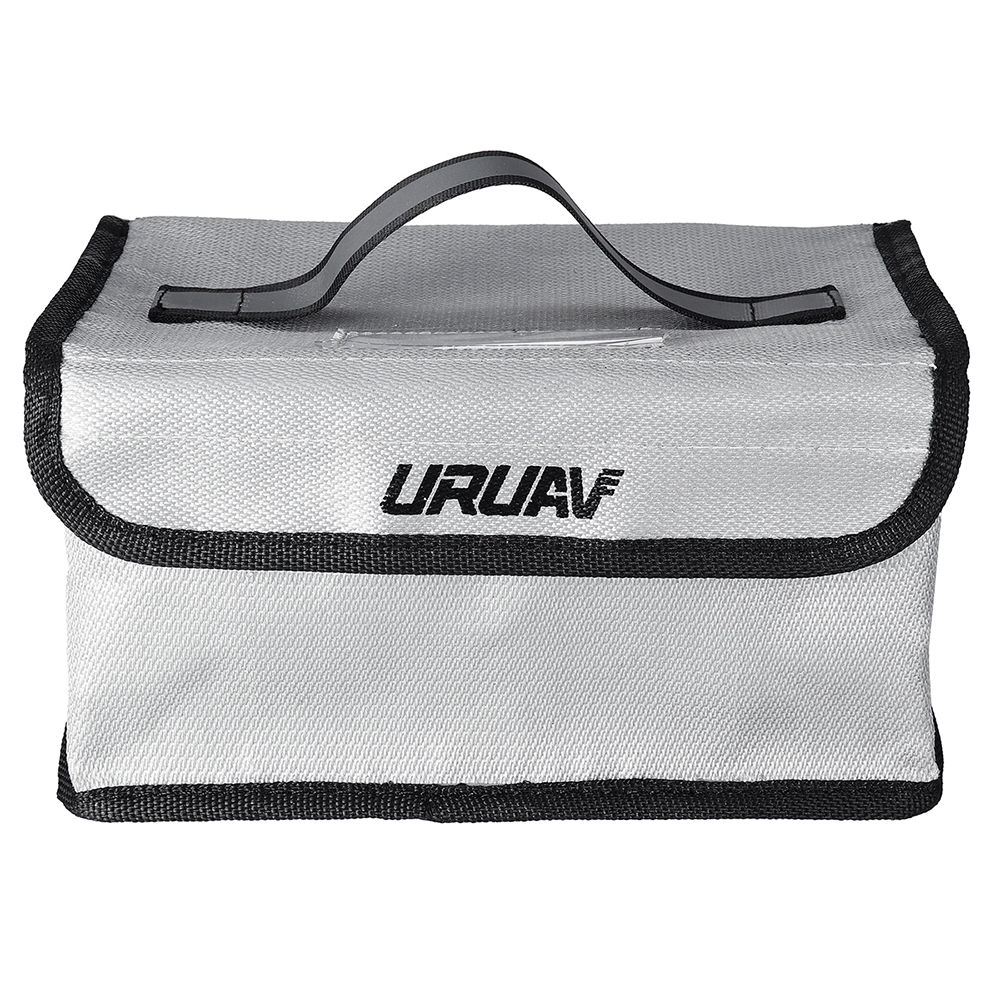 URUAV Fire Retardant LiPo Battery Explosion Proof Safety Bag with Handwritten Label 220*155*115mm