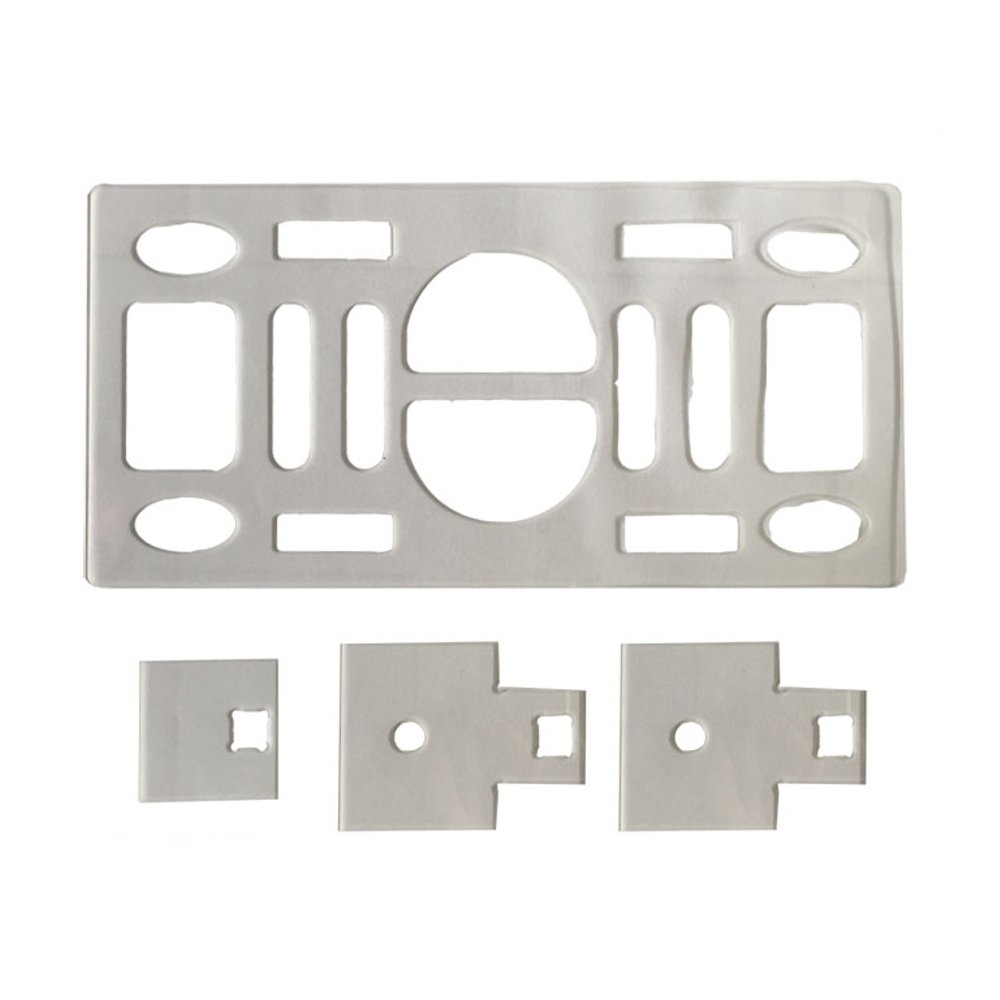 Battery Fixing Plate & Antenna Fixing Plate & Canopy Fixing Plate For Believer 1960mm RC Airplane