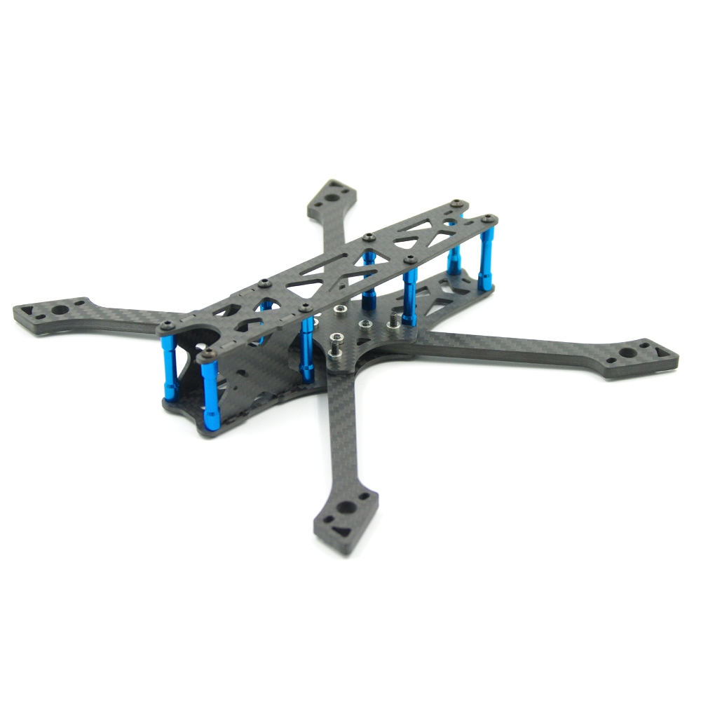 Raptor 225mm FPV Racing Frame Kit 5mm Arm Carbon Fiber Support Foxeer Predator RunCam Swift Mini