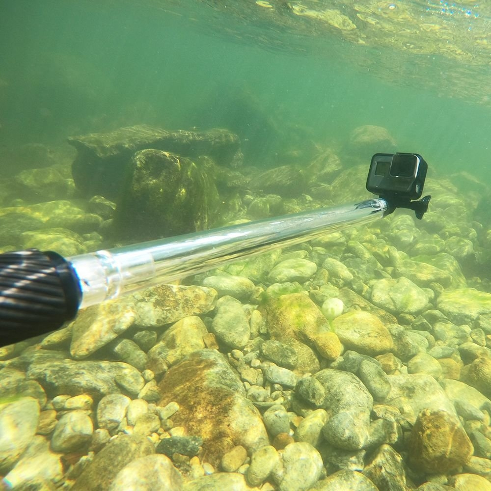 "17"" 55.5cm Waterproof Selfie Stick With Buoyant Rod For Gopro XiaoYi SJCAM FPV Action Camera"