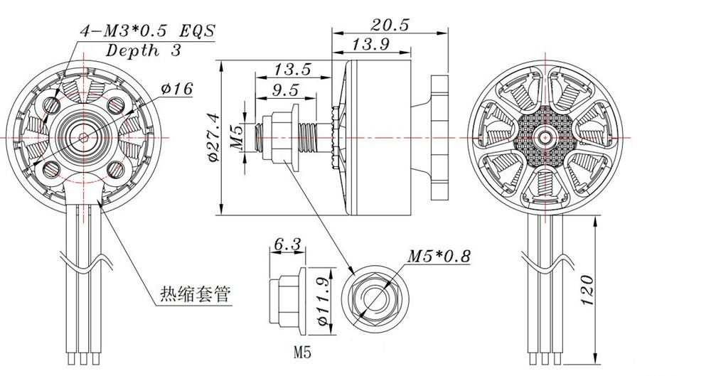 sunnysky e r2207 2207 1800kv 2580kv 3 4s brushless motor for rc sunnysky e r2207 2207 1800kv 2580kv 3 4s brushless motor for rc drone fpv
