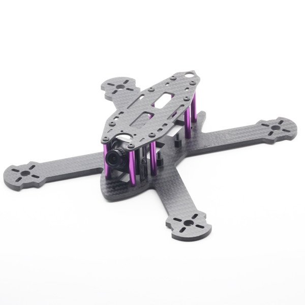 URUAV STAD 210mm Wheelbase 3mm Arm X Type 3K Carbon Fiber FPV Racing Frame Kit for RC Drone