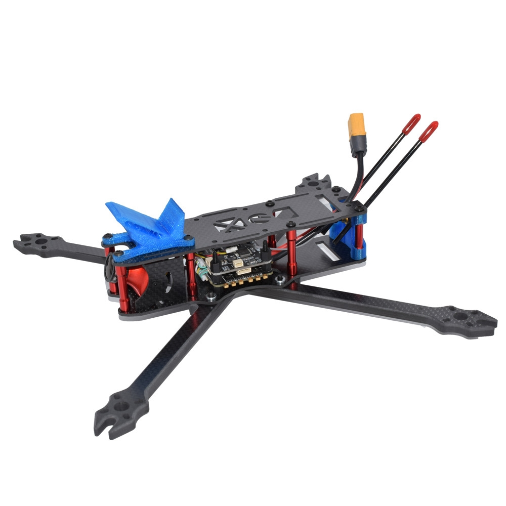 Shammgod 310 7 Inch 310mm Wheelbase 6mm Arm Thicnkess 3K Carbon Fiber Frame Kit for RC Drone