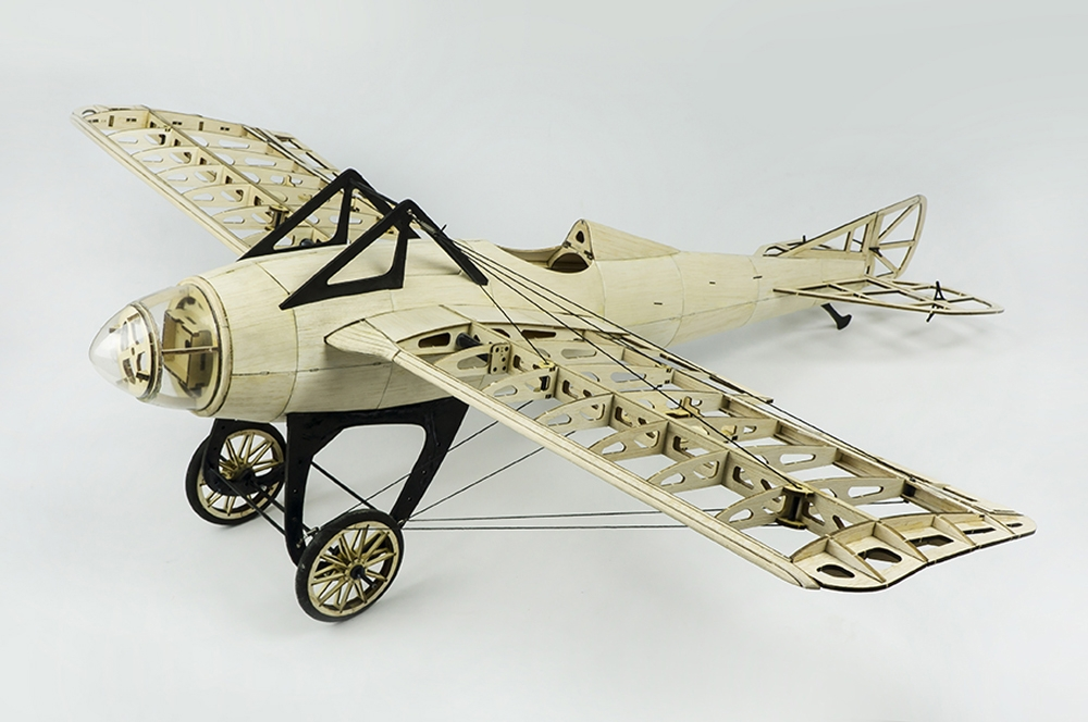 Deperdussin Monocoque 1000mm Wingspan Balsa Wood Laser Cut RC Airplane Kit