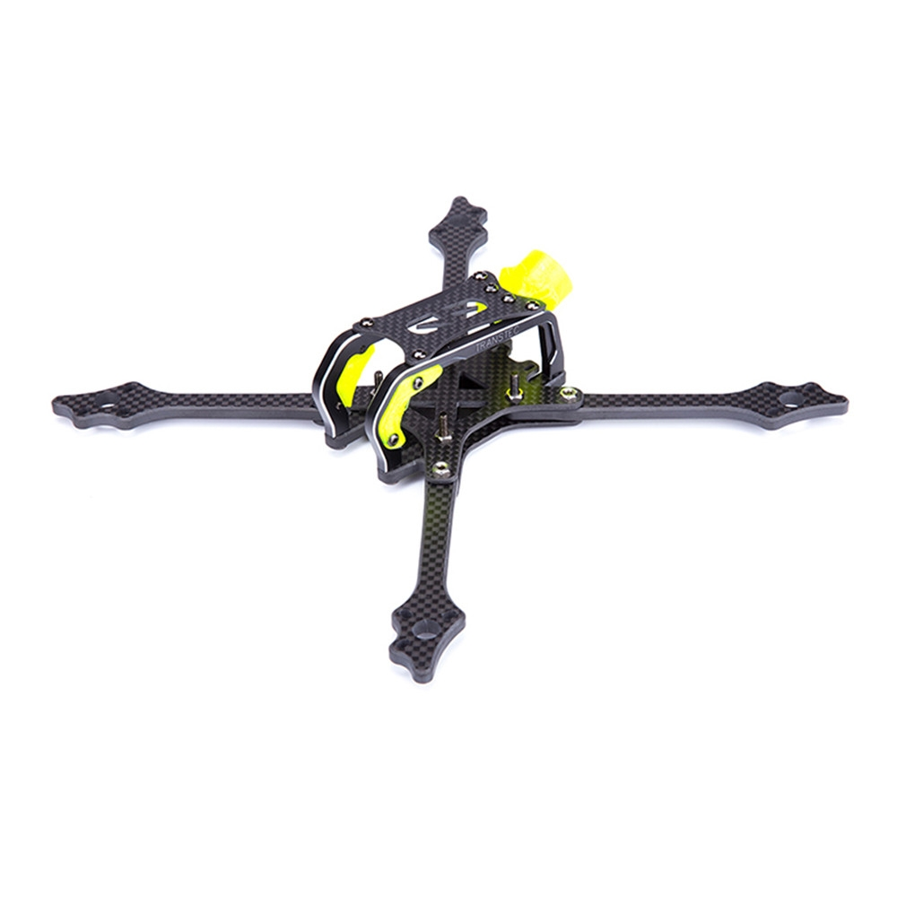 TransTEC Lightning2 215mm Wheelbase 5mm Arm 7075 CNC Carbon Fiber Frame Kit for RC Drone FPV Racing