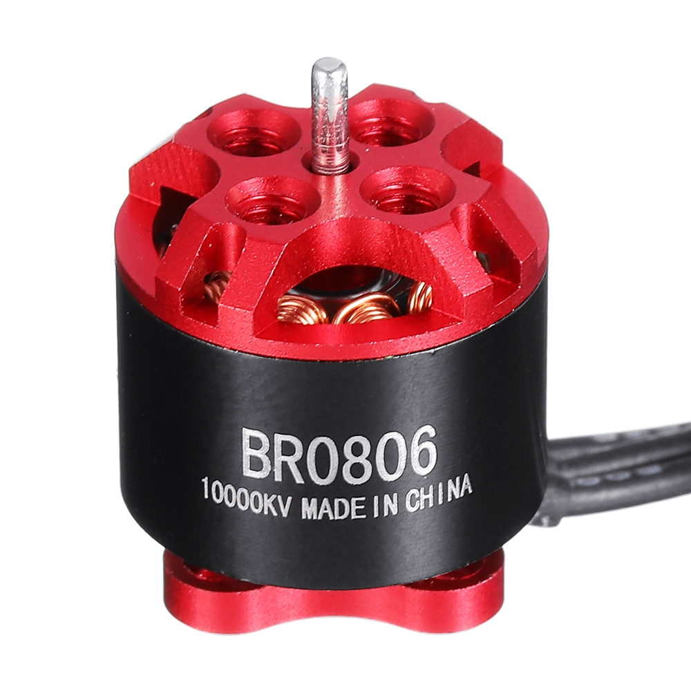 Racerstar BR0806 8000KV 10000KV 1-2S Brushless Motor for Whoop FPV Racing Drone