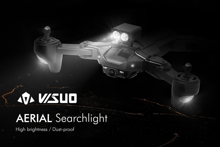 VISUO XS812 RC Drone Quadcopter Spare Parts Searchlight Illumination LED Night Light Lamp Set