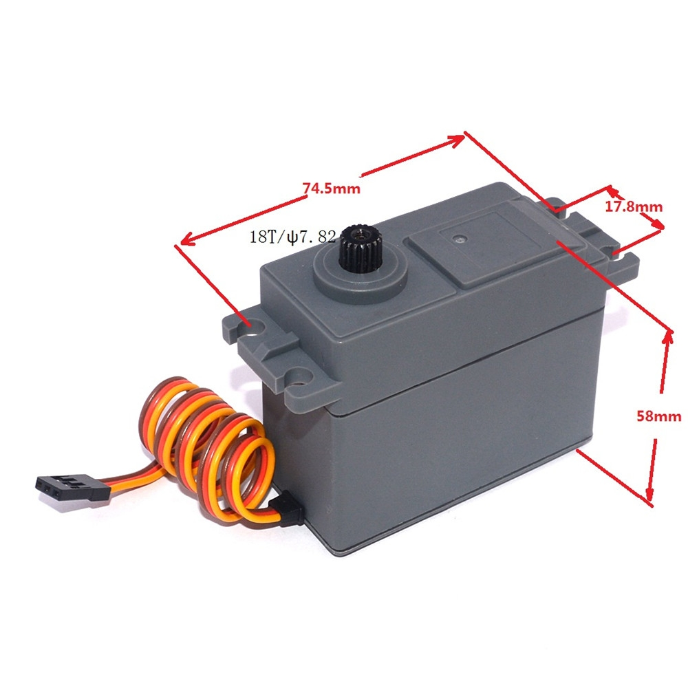 ZD Racing 15338 30KG Digital Steel Gear Servo for 1/5 RC Car Redcat HPI Rovan Buggy Truck