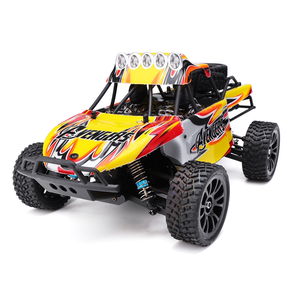 HT C602 1/16 2.4G 4WD 60km/h Rc Car Full Proportional Desert Off-Road Truck RTR Toy