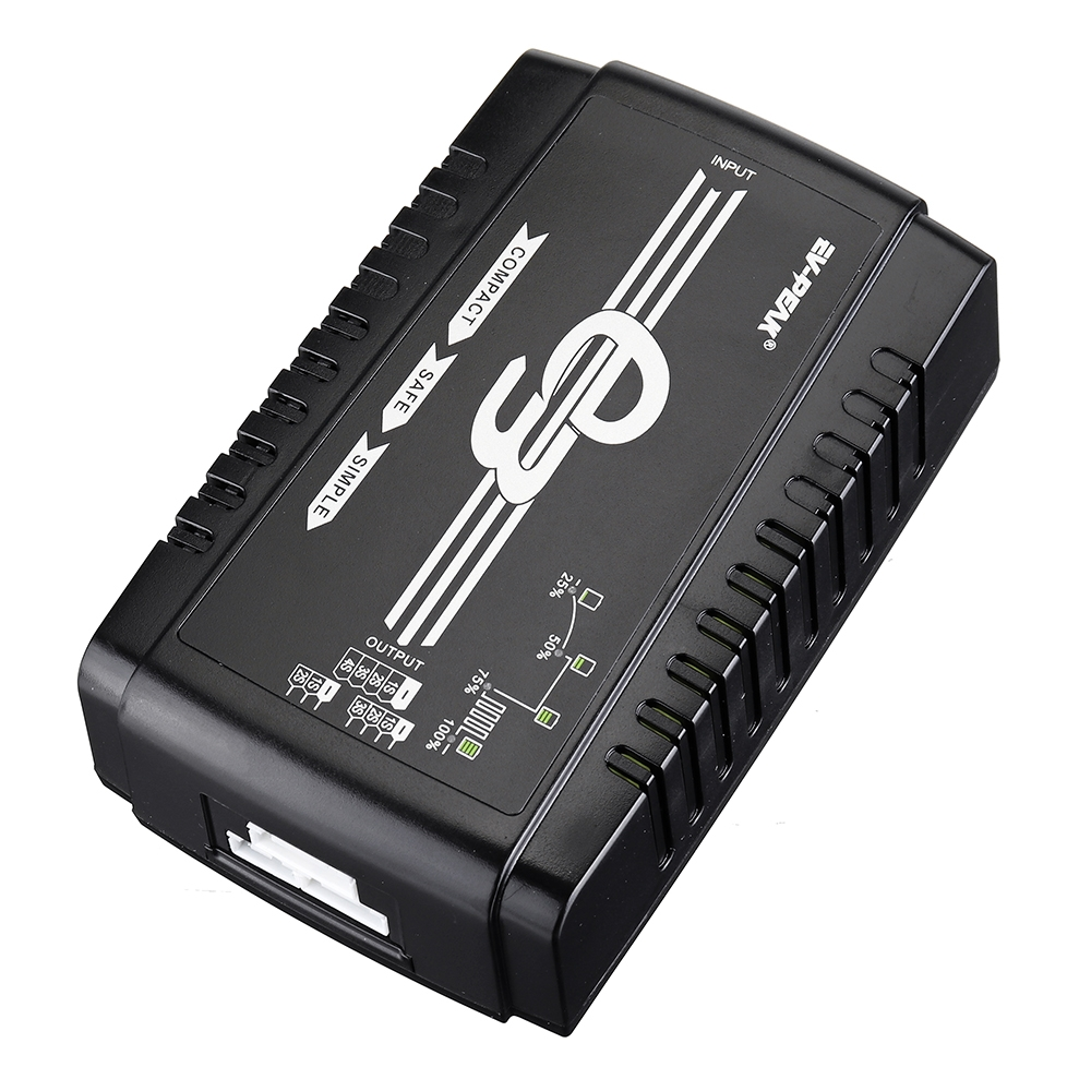 EV-Peak E3 35W 3A Smart AC Balance Charger for 2S-4S LiPo/LiHV Battery