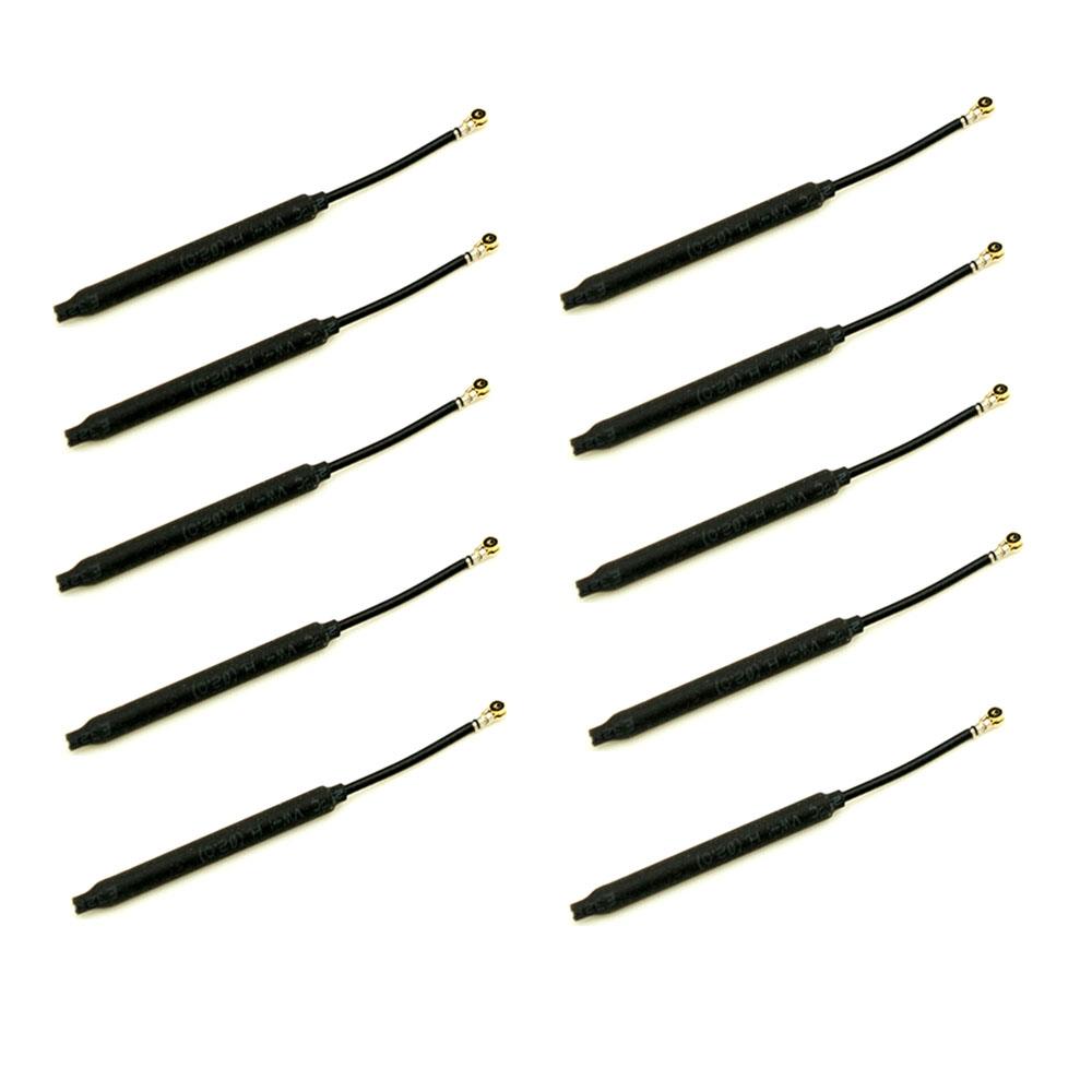 10 PCS Original FrSky 2.4GHz 80mm IPEX1 Dipole Antenna for XSRF3O XSRF3PO XSRF4O XSRF4PO Receiver