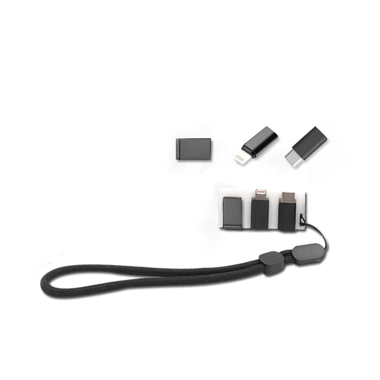 STARTRC Wrist Strap USB Connectors Adapter Storage Plate For DJI OSMO Pocket Accessories