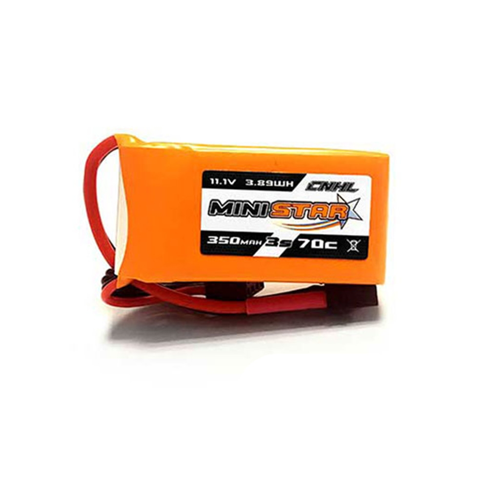 3 PCS CNHL MiniStar 3S 11.1V 350mAh 70C Lipo Battery with XT30 Plug for RC Drone FPV Racing