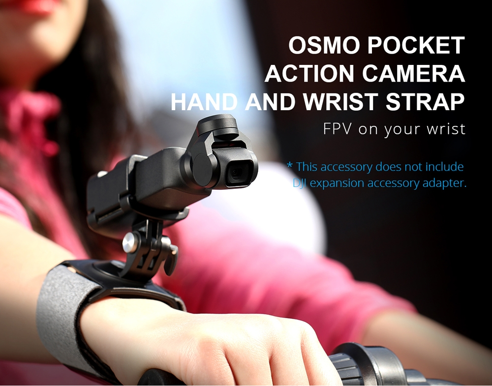 PGYTECH FPV Action Camera Hand and Wrist Strap for DJI OSMO Pocket Camera