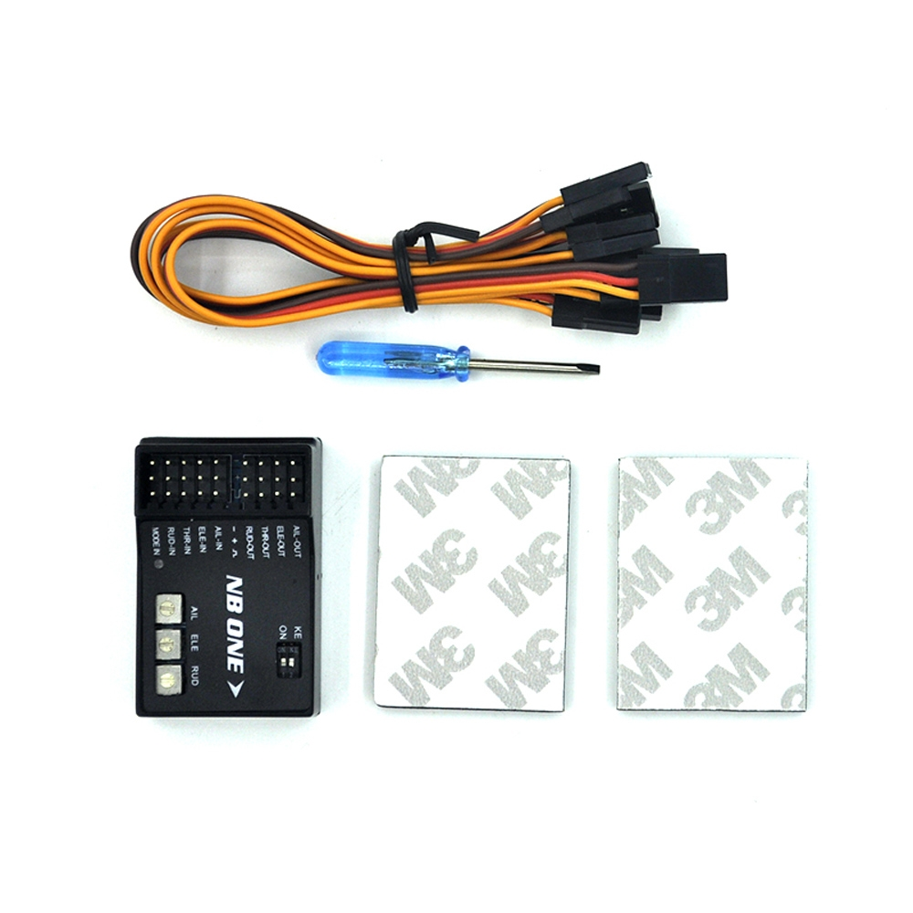 NB One 32 Bit Flight Controller Built-in 6-Axis Gyro With Altitude Hold Mode for FPV RC Fixed Wing